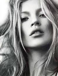 The phenomenal Kate Moss who looks equally gorgeous in a gown or a burlap sack and unkempt hair.